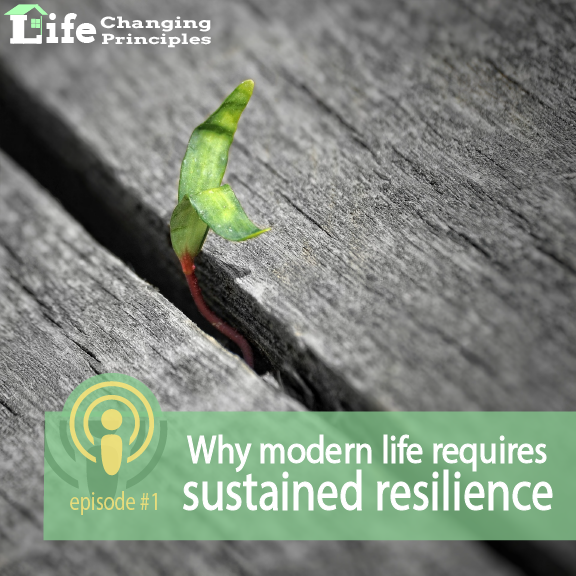Modern Life requires sustained resilience​
